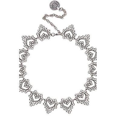 Pentru femei Coliere Choker Ștras Heart Shape Aliaj Sexy La modă Ajustabile Bijuterii Pentru Oficial Dată Club