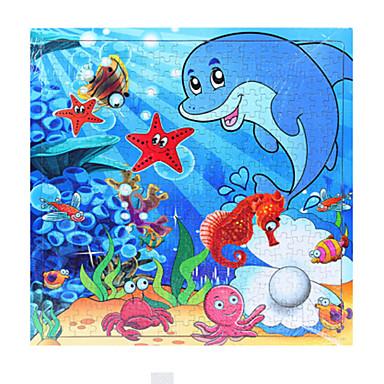 Legpuzzel Houten puzzels Octopus Hout Cartoon Unisex Geschenk
