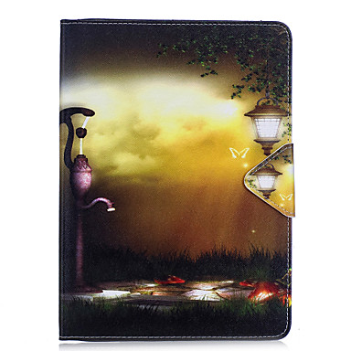 Hülle Für Apple iPad Mini 4 iPad Mini 3/2/1 iPad 4/3/2 iPad Air 2 iPad Air Kreditkartenfächer Geldbeutel mit Halterung Flipbare Hülle