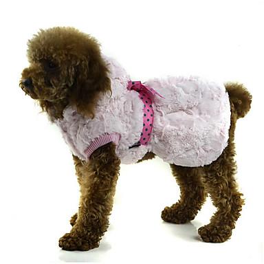 Hond Hoodies Hondenkleding Ademend Casual/Dagelijks Effen Rood Roze Khaki Kostuum Voor huisdieren