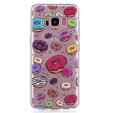 voordelige Galaxy S-serie hoesjes / covers-hoesje Voor Samsung Galaxy S8 Plus / S8 IMD / Transparant / Patroon Achterkant Voedsel Zacht TPU