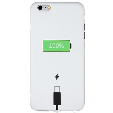 Caz pentru Apple iphone 7 plus iphone 7 acoperire spate acoperire spate caz cuvânt / frază soft tpu pentru iphone 6s plus iphone 6 plus