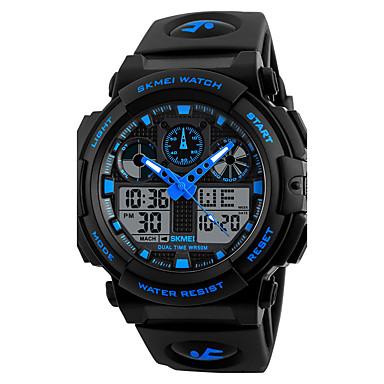Herrn Quartz digital Digitaluhr Armbanduhr Smartwatch Militäruhr Sportuhr Chinesisch Kalender Chronograph Großes Ziffernblatt