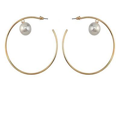 Damen Imitierte Perlen Modisch individualisiert Simple Style Aleación Runde Form Schmuck Für Sonstiges Alltag Normal
