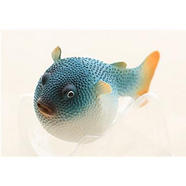 ديكور حوض السمك سمك اصطناعي مضيء مطاط