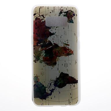 Hülle Für Samsung Galaxy S8 Plus S8 Muster Rückseitenabdeckung Landschaft Weich TPU für S8 S8 Plus S7 edge S7 S6 edge S6