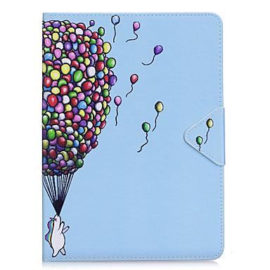 غطاء من أجل Apple iPad Air 2 iPad Air باد 4/3/2 أورجامي غطاء كامل للجسم Balloon قاسي جلد PU إلى iPad Air iPad 4/3/2 iPad Air 2 iPad Pro