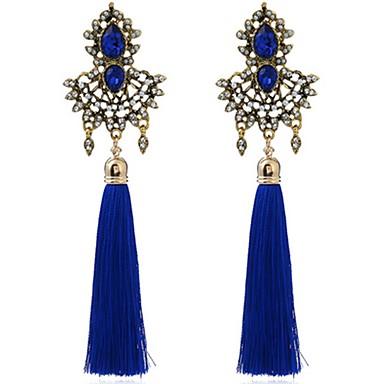 للمرأة أقراط قطرة المتضخم عتيقة سبيكة Flower Shape مجوهرات من أجل حزب حفلة ليلية