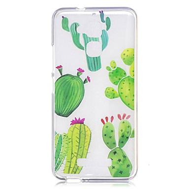 Pentru xiaomi roșu notă 4 notă 3 caz acoperă cactus model spate acoperi moale tpu