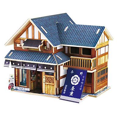 Puzzle 3D Puzzle Lemn Modele de Lemn Mașină Casă Reparații #D De lemn Lemn natural Clasic Pentru copii Unisex Cadou
