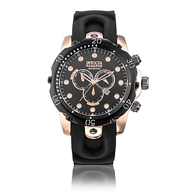 Χαμηλού Κόστους Ανδρικά ρολόγια-Ανδρικά Αθλητικό Ρολόι Στρατιωτικό Ρολόι Ψηφιακό ρολόι Χαλαζίας σιλικόνη καουτσούκ Μαύρο 30 m Ανθεκτικό στο Νερό Ημερολόγιο Δημιουργικό Αναλογικό Φυλαχτό Πολυτέλεια Βίντατζ Καθημερινό Βραχιόλι -