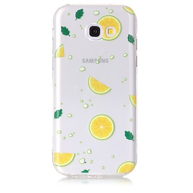 voordelige Galaxy A-serie hoesjes / covers-hoesje Voor Samsung Galaxy A3 (2017) / A5 (2017) / A5(2016) Transparant / Patroon Achterkant Fruit Zacht TPU