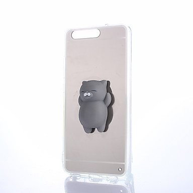 voordelige Huawei Mate hoesjes / covers-hoesje Voor Huawei Honor 4X / Huawei Honor 7 / Huawei P9 P10 Plus / P10 Lite / P10 Spiegel / DHZ / squishy Achterkant Effen Hard PC / Huawei P9 Plus / Huawei P9 Lite