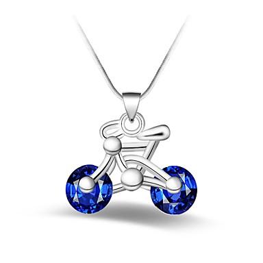Pentru femei Geometric Shape Personalizat Clasic Modă Coliere cu Pandativ Sapphire sintetic Aliaj Coliere cu Pandativ . Petrecere Zilnic