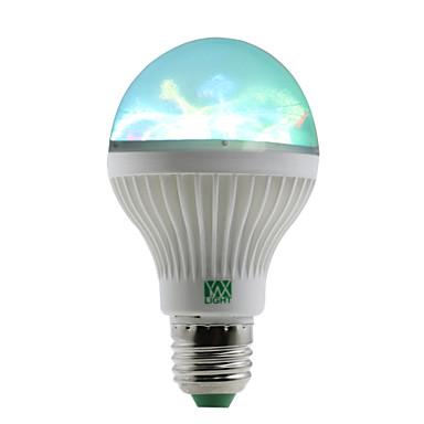 1W 100-150 lm E27 LED-bollampen 6 leds SMD RGB AC 85-265V