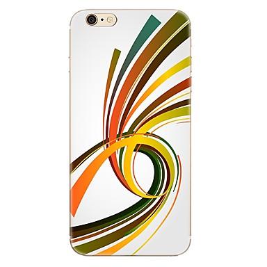 Fall für iphone 7 7 plus Linienmuster tpu weiche rückseitige Abdeckung für iphone 6 plus 6s plus iphone 5 se 5s 5c 4s