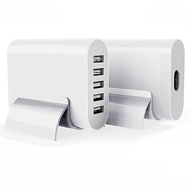 Încărcător USB 5 porturi Stație încărcător de birou Priză UK Adaptor de încărcare