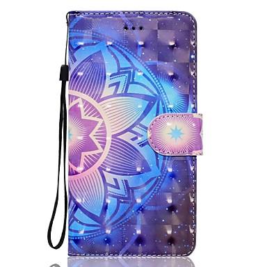 Case voor iphone 7 plus 7 3d effect mandala patroon binnenband kaart pu materiaal portefeuille sectie telefoon case 6 plus 6s 5 se