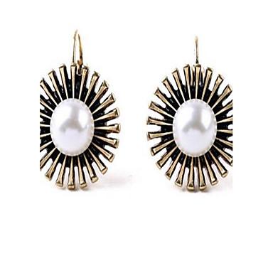 Pentru femei Cercei Stud Cercei Picătură Imitație de Perle Sexy La modă Vintage Personalizat stil minimalist Supradimensionat AliajRound