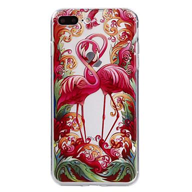 Fall für Apfel iphone 7 7 plus Fallabdeckung Flamingomuster gemaltes tpu materielles weiches Falltelefonkasten für iphone 6s 6 plus se 5s
