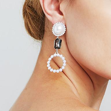 Damen Imitierte Perlen - Personalisiert Sexy Erklärung Film-Schmuck Euramerican Modisch Kreisform Für Weihnachts Geschenke Jahrestag