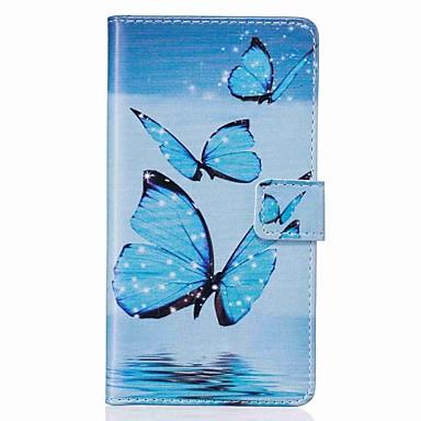 Caz pentru Apple iphone 7 plus 7 portbagaj capac portbagaj portofel cu stand flip model carcasă completă cu stylus fluture pu piele 6s