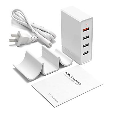 Încărcător USB 4 porturi Stație încărcător de birou Cu Quick Charge 3.0 Stand Dock Universal Adaptor de încărcare