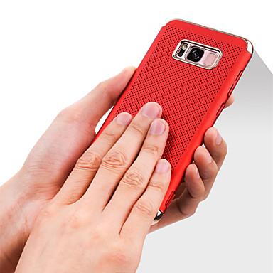 Hülle Für Samsung Galaxy S8 Plus S8 Beschichtung Rückseitenabdeckung Volltonfarbe Hart PC für S8 S8 Plus