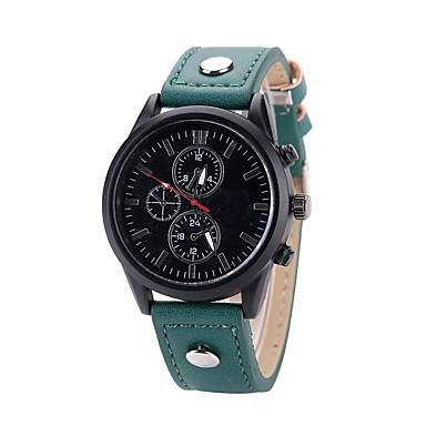 Bărbați Pentru femei Ceas Elegant Ceas La Modă Ceas de Mână Unic Creative ceas Chineză Quartz PU Bandă Charm Casual Elegant Negru