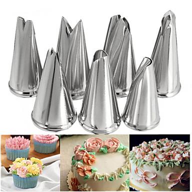 7 buc sfaturi duză de zahăr ambarcațiuni tort decorare instrumente pentru frunze de flori face