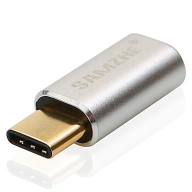 USB 2.0 tip C Adaptor, USB 2.0 tip C to Micro USB 2.0 Adaptor Bărbați-Damă