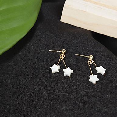 Pentru femei Cercei Stud La modă stil minimalist Aliaj Star Shape Bijuterii Pentru Zilnic