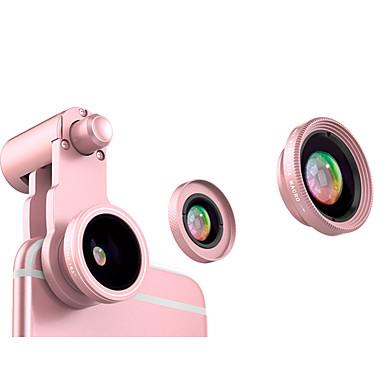 Obiectivul telefonului mobil Lentile Fish-Eye Lentile cu Unghi Larg Lentilă Macro Aliaj de Aluminiu 10X și peste 185