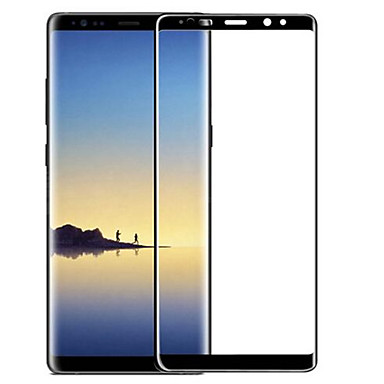 Ecran protector Samsung Galaxy pentru Note 8 Sticlă securizată 1 piesă Ecran Protecție Întreg 3D Muchie Curbată Anti- Amprente Rezistent