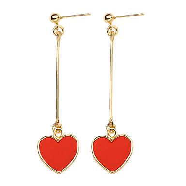 Pentru femei Cercei Picătură Bijuterii La modă Personalizat Aliaj Heart Shape Bijuterii Pentru Zilnic Casual