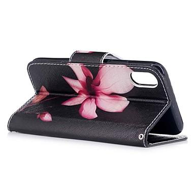di Resistente 8 iPhone Con 06257090 portafoglio credito Apple decorativo Fiore Porta pelle supporto X Integrale Per Custodia carte iPhone A qx4wX88T