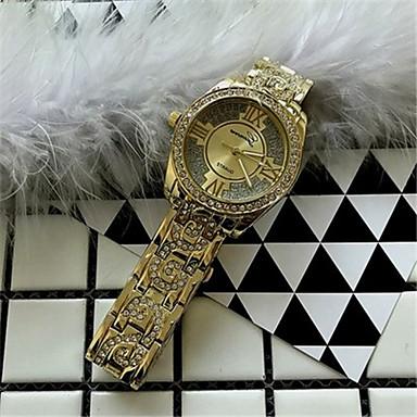 Pentru femei Ceas La Modă Ceasuri Pave Quartz Aliaj Bandă Sclipici Argint Auriu Roz auriu