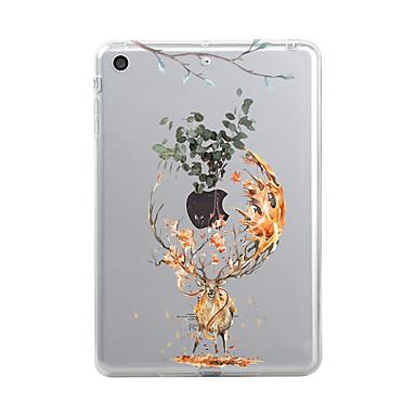 Maska Pentru Apple iPad Mini 4 iPad Mini 3/2/1 iPad 4/3/2 iPad Air 2 iPad Air iPad (2017) Transparent Model Capac Spate Crăciun Animal