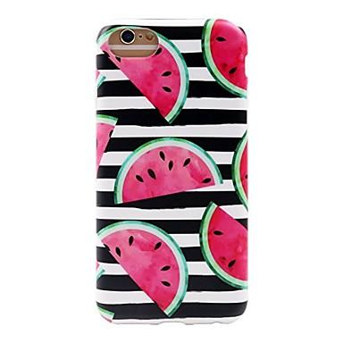 caz pentru iphone 7 6 fructe tpu soft ultra-subțire spate cover case acoperă iphone 7 plus 6 6s plus se 5s 5 5c 4s 4