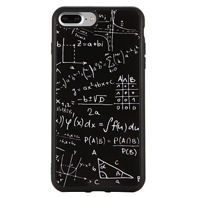 Coque Pour Apple iPhone 7 Plus iPhone 7 Antichoc Motif Coque Formes Géométriques Flexible TPU pour iPhone 7 Plus iPhone 7 iPhone 6s Plus