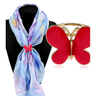 Pentru femei Broșe Clasic Modă Aliaj Altele Rosu Albastru Bijuterii Pentru Zilnic Casual