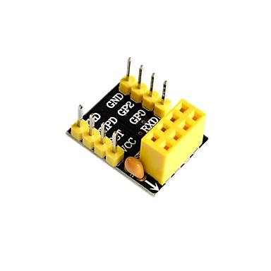 The ESP01/01S Adapter ESP8266 ESP01 ESP01S Unsoldered