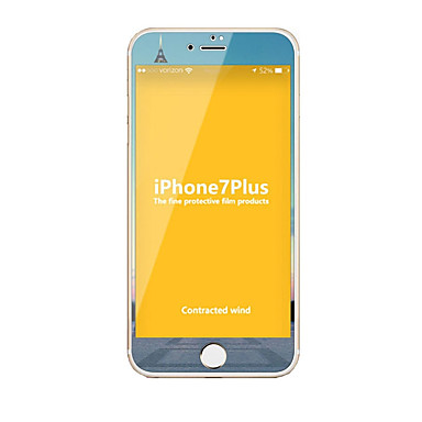 Sticlă securizată Ecran protector pentru Apple iPhone 7 Plus Ecran Protecție Întreg High Definition (HD) 9H Duritate La explozie Model