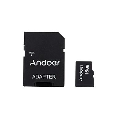 andoer 16gb clasa 10 cartela de memorie tf card adaptor cititor de carduri usb unitate flash pentru aparat de fotografiat masina camera