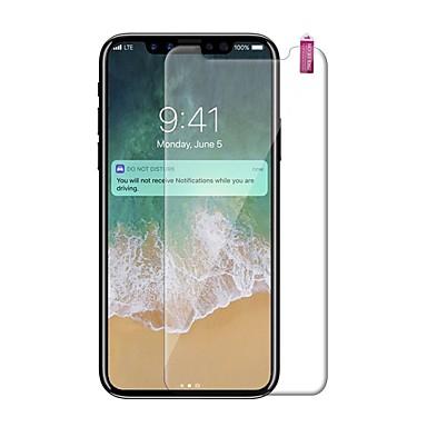 Недорогие Защитные пленки для iPhone X-AppleScreen ProtectoriPhone X Уровень защиты 9H Защитная пленка для экрана 1 ед. Закаленное стекло