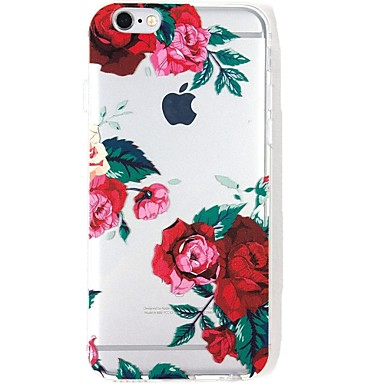 iPhone TPU Per 06198910 iPhone Per Apple per Custodia iPhone Morbido Fantasia 7 disegno sottile retro Ultra Transparente decorativo 7 Fiore 7 Plus xnw17X
