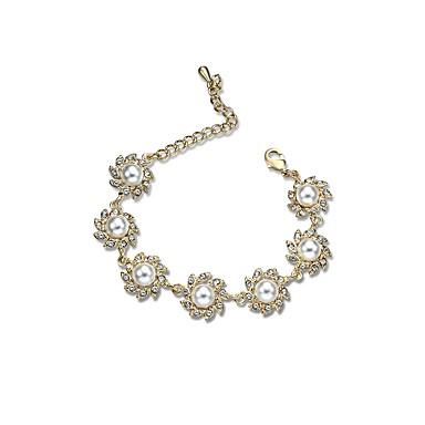 Pentru femei Brățări cu Lanț & Legături Diamant sintetic La modă Multi-moduri Wear Ștras Aliaj Circle Shape Geometric Shape Bijuterii
