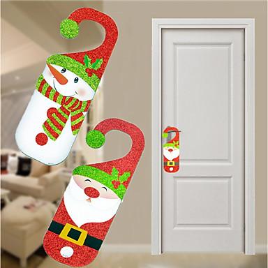 1 buc Om de Zăpadă Santa Vacanță Ornamente Nuntă, Decoratiuni de vacanta Ornamente de vacanță