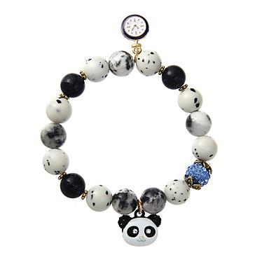 Bărbați Pentru femei Bratari Strand Bijuterii Design Animal Chrismas Aliaj Geometric Shape Panda Bijuterii Pentru Oficial Club