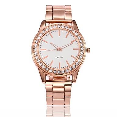 Pentru femei Ceas Elegant Ceas La Modă Ceas de Mână Unic Creative ceas Chineză Quartz Aliaj Bandă Casual Argint Auriu Roz auriu